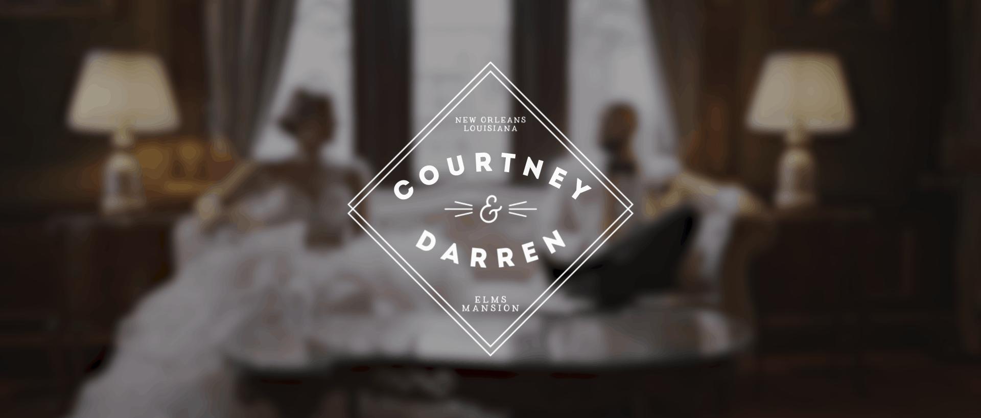 Elms Mansion Wedding | Courtney + Darren