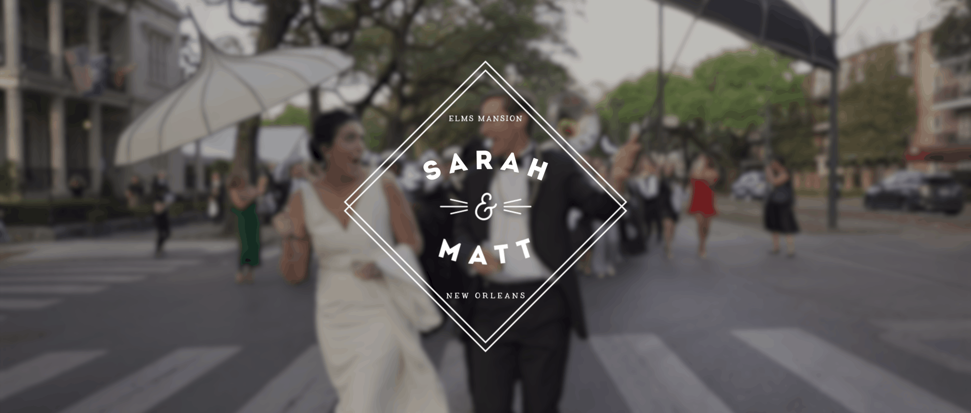 Sarah and Matts New Orleans wedding video